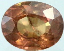 1.40 Cts Songea Sapphire ,beautuful soft hue colors GOGO 1701