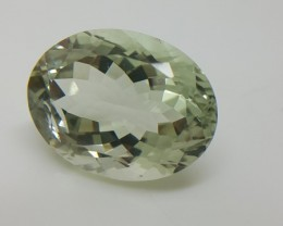 11.80 Crt Natural green amethyst faceted gemstone beautiful cutting