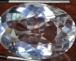 28.90 ct natural stunning  pollucite gemstone ~ jewellery