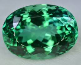 53 Crt Beautiful  Green Spodumene Gemstone ~ Afghanistan