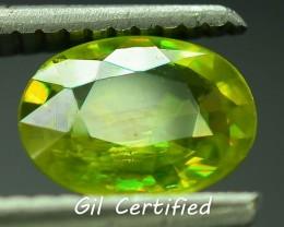 GiL Certified 1.15 ct Tanzanian Sphene S.2