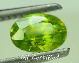 GiL Certified 1.16 ct Tanzanian Sphene S.2