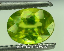 GiL Certified 1.21 ct Tanzanian Sphene S.2