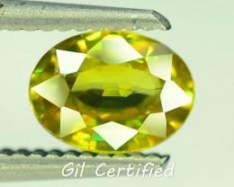 GiL Certified 1.27 ct Tanzanian Sphene S.2