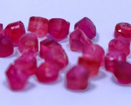 11.75 Carat pink  tourmaline rough lot