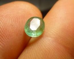 1.32cts Zambian Emerald , 100% Natural Gemstone