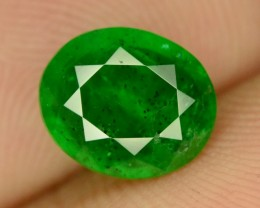 1.80 ct NATURAL GREEN EMERALD ~ AFGHANISTAN