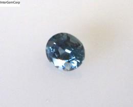 0.37cts Natural Australian Blue Sapphire Oval Cut