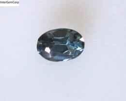 0.55cts Natural Australian Blue Sapphire Oval Cut