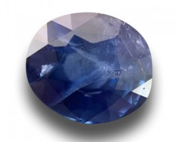 1.72 CTS Natural Blue sapphire |Loose Gemstone|New Certified| Sri Lanka