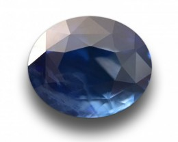 2.07 CTS Natural Blue Sapphire |Loose Gemstone|New Certified| Sri Lanka