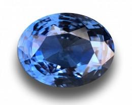 5.45 CTS Natural Blue sapphire |Loose Gemstone|New Certified| Sri Lanka