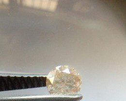 NATURAL -CHAMPANGEPINK DIAMOND, 0.35CTWSIZE,1PCS