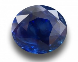4.25 CTS | Natural Royal Blue sapphire |Loose Gemstone|New| Sri Lanka