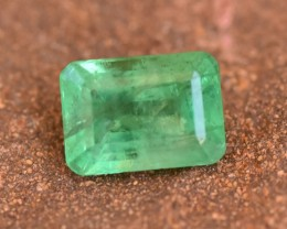 1.00 cts SI Top Colour Natural Emerald from Colombia (RE9)