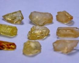 31 ct Unheated ~ Natural & Superb Helidoor rough lot