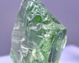 First Class Rare28.40 ct green Amethyst rough