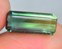 4.80 CT NATURAL BEAUTIFUL BI COLOR TOURMALINE GEMSTONE