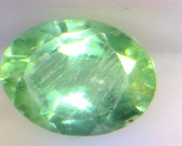 0.59cts Colombian Emerald , 100% Natural Gemstone