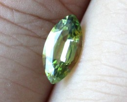 0.97cts Natural Australian Yellow Parti Sapphire Marquise Cut