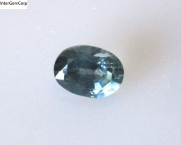 0.69cts Natural Australian Blue Parti Sapphire Oval Cut