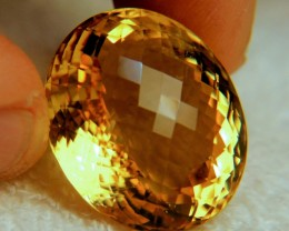 66.5 Carat Brazil VVS1 Golden Citrine - Gorgeous
