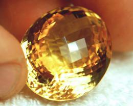 66.5 Carat Brazil VVS1 Golden Citrine - Gorgeous