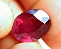 15.15 Carat Fiery, Flashy Cherry Red Ruby - Superb