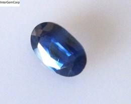0.77cts Natural Australian Blue Sapphire Oval Cut