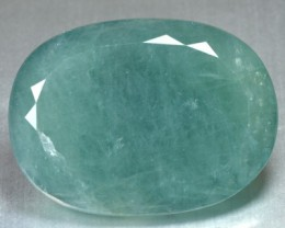 Rare Collectible 87.12 Cts Natural Green Grandidirite Cushion Cut Madagasca