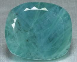 48.40 Cts Natural Green Grandidierite Cushion Cut Madagascar Gem