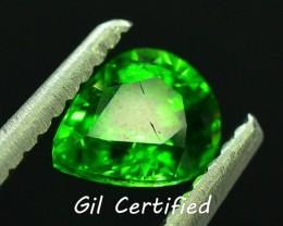 GiL Cert 0.76 ct Tsavorite Garnet from Tanzania PR.D1