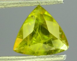 Natural Sphene 0.790 ct Great Color Dispersion