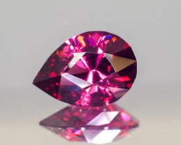 4.172ct Malaya Garnet Pear
