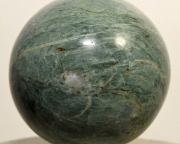 "2.1"" Natural Green Apatite Sphere Polished Crystal - Peru (STGAS-PA74)"