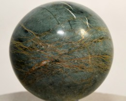 46mm Green Apatite Sphere Polished Crystal Specimen Peru (STGAS-PA76)