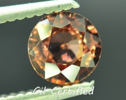 GiL Certified 1.44 ct Natural  Zircon Untreated Combodia PR.1