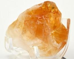 250ct Rainbow Orange Citrine Point Crystal Quartz - Brazil (STCTPVV58)