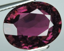 6.90 cts Attractive Natural pink tourmaline Gemstone oval shape