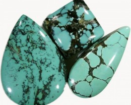 43.95 CTS TURQUOISE -HUBAY- NATURAL STONES [STS448]