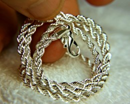 925 Sterling Silver Chain 3mm / 18 inches
