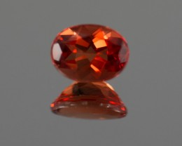 Red Andesine 1.17 ct Finland GPC Lab
