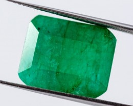 Green Emerald 9.57 ct Colombia