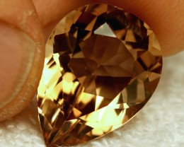 17.95 Carat VVS Brazil Golden Topaz - Superb