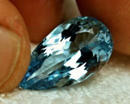 17.68 Carat VVS1 Brazil Blue Topaz - Superb