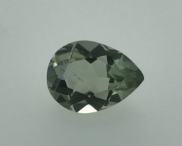 7.08 Carats Natural Green Amethsy Stunning Luster Faceted Cut Gemstone