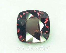 GiL Certified 4.02 ct Natural Garnet ~ Color Change PR.B