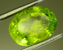 5.80 Ct Untreated Green Peridot