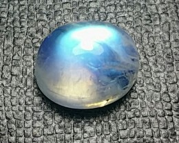 7.32ct 12.3mm Rainbow Moonstone 12.3 by 10.3 by 7mm