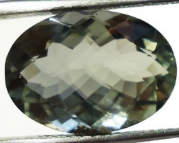 6.45 Cts Certified Natural Green Amethyst